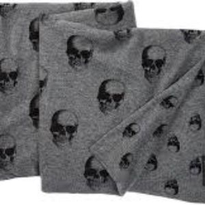 Cashmere Skull Throw